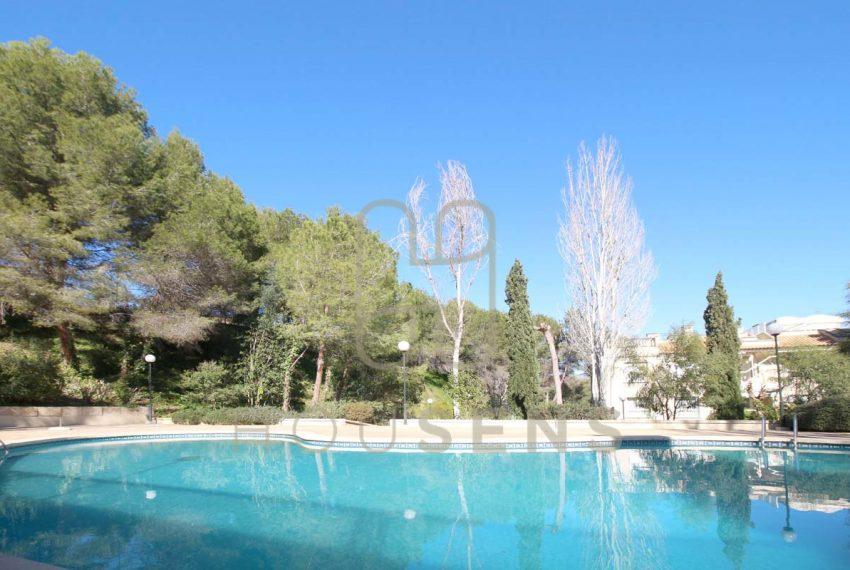 Atico en la bonanova con piscinas parking y solarium (12)